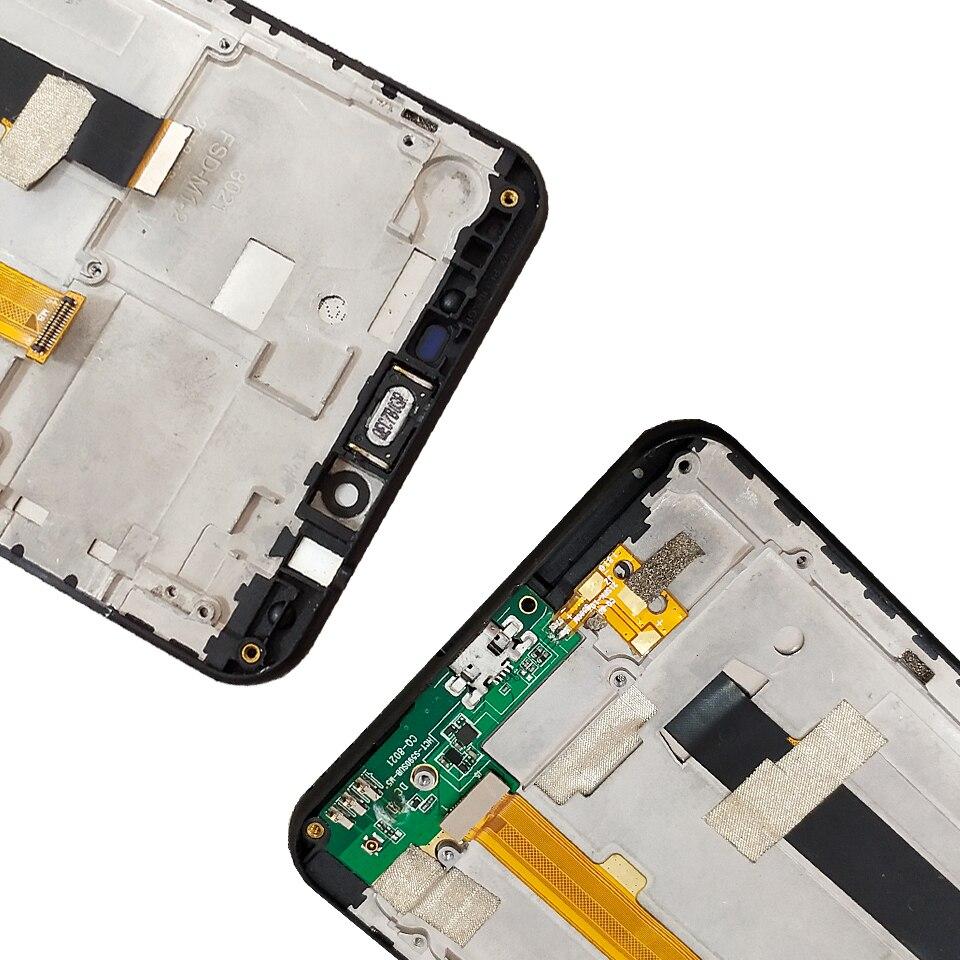 Для nuu mobile G2 ЖК дисплей и сенсорный экран с рамкой в сборе Замена с инструментами для nuu Mobile G2 - 5
