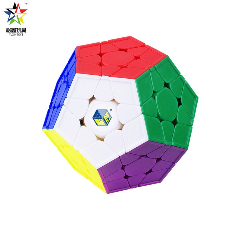 Yuxin Zhisheng Little Magic Megaminxeds Stickerless 12 Sides Speed Cube Professional Puzzle Cubes Toys