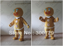 hot sale Christmas gingerbread mascot costumes