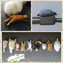 Free shipping Lazy Sleep Pets Toys Fridge Animal Figures Tourist Souvenir home office decoration magnets party supply kids gifts