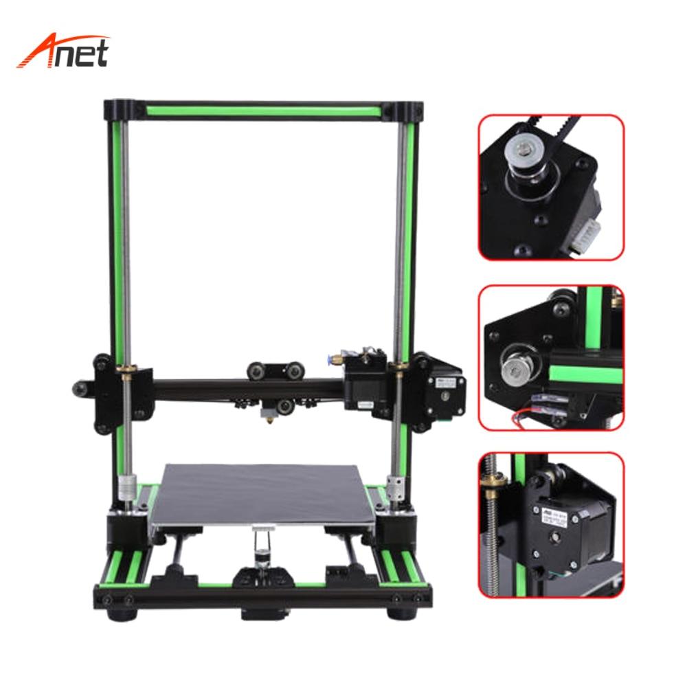 Anet E10 Volledige Metalen Frame 3d Drucker 10 Minuten om Gemonteerd Afstandsbediening Voeden Impressora 3d met 8 GB Sd kaart als Gift 1.75mm PLA - 3