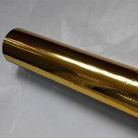 Hot stamping foil oro colore 101 pressa a caldo su carta o plastica 64 cm x 120 m stampaggio a caldo pellicola