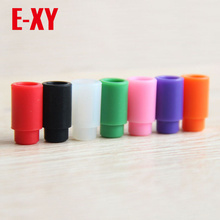 E-XY Silicone Mouthpiece Cover Individually Silicon Test Drip Tips Disposable Rubber Drip Tip Cap