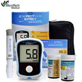 MICROTECH MEDICAL Blood Glucose Meter For Diabetes Accurate Glucometer with 50 Test Strips 50 Lancets Needles medidor de glicose