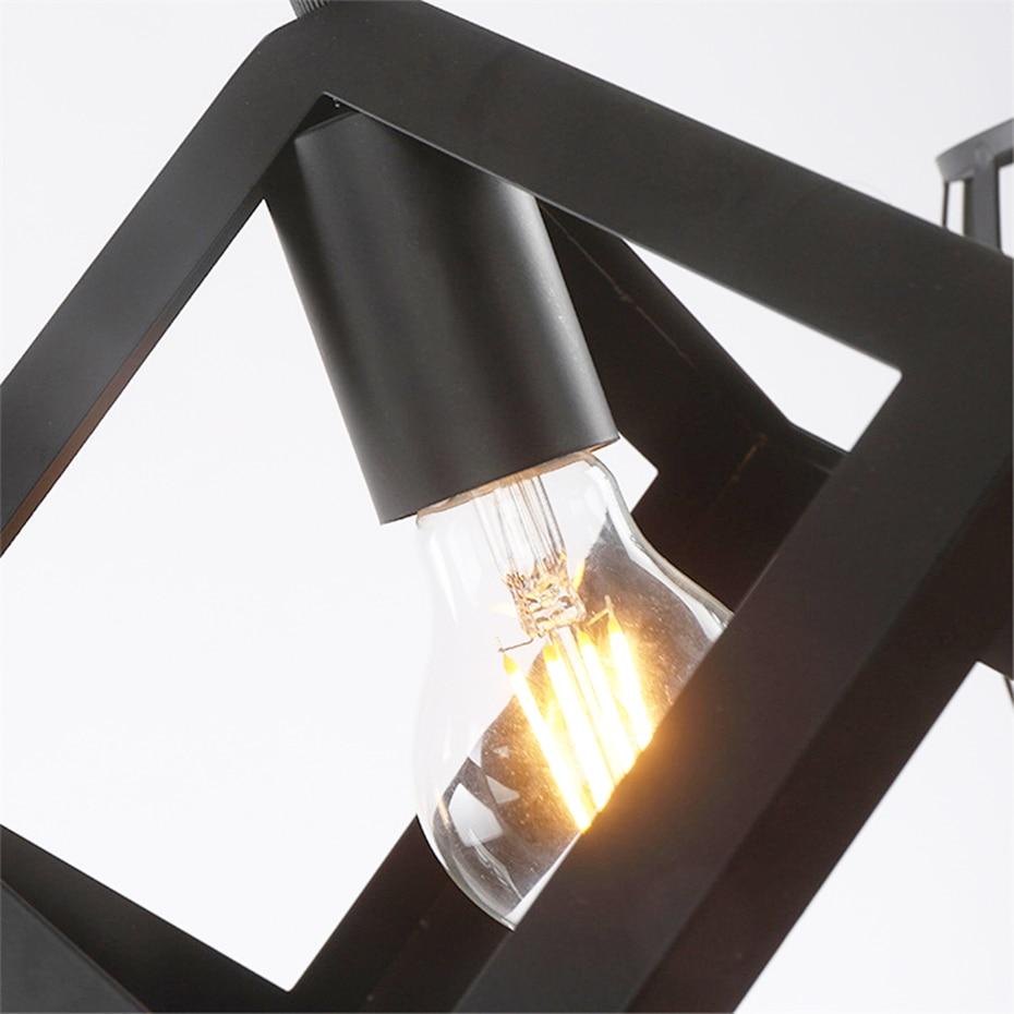Image 5 - Loft American Iron black lampshade wall lamp vintage cage guard sconce loft lighting fixture modern indoor lighting wall lampsWall Lamps   -