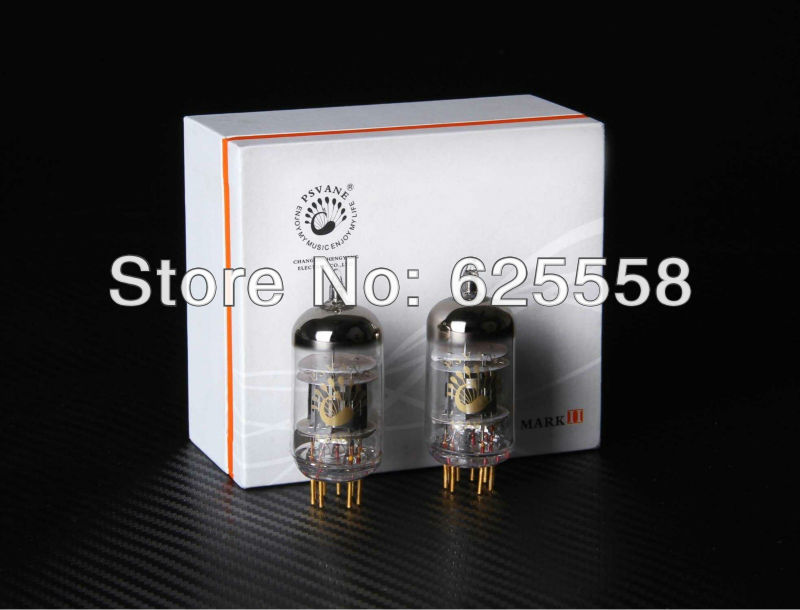 2PCS Premium PSVANE MARK II electron Pre-amp tube 12AU7-T, 1 Matched pair in box matched pair psvane 845 t mark ii vacuum tube new
