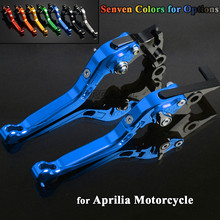 FREAXLL CNC Aluminum Motorbike Levers Motorcycle Brake Clutch Foldable Extendable Adjustable For Aprilia MANA 2007-2012