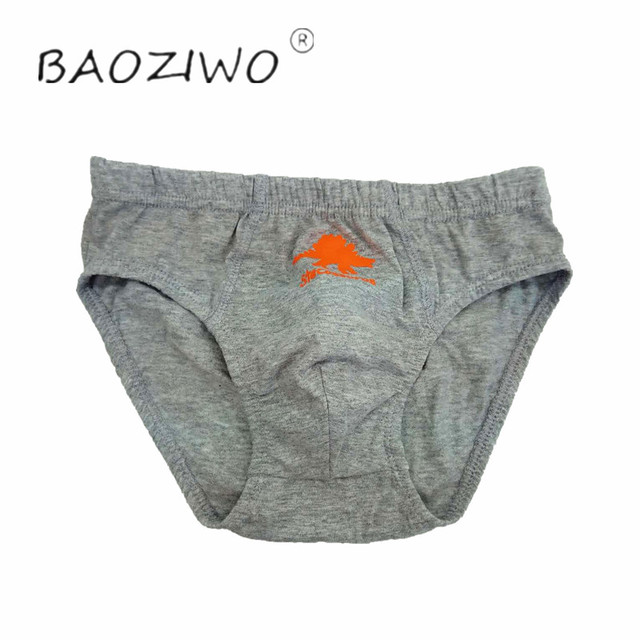 Baoziwo child panties for boys underwear cotton  in brief for teenage boys in size 110/116 134/140 3