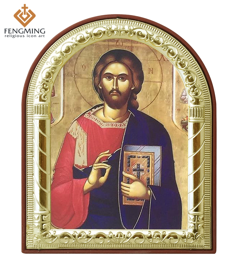 can custom fashion metal crafts  greek orthodox catholic icons jesus christ for sale religious pictures keepsake gifts wall art