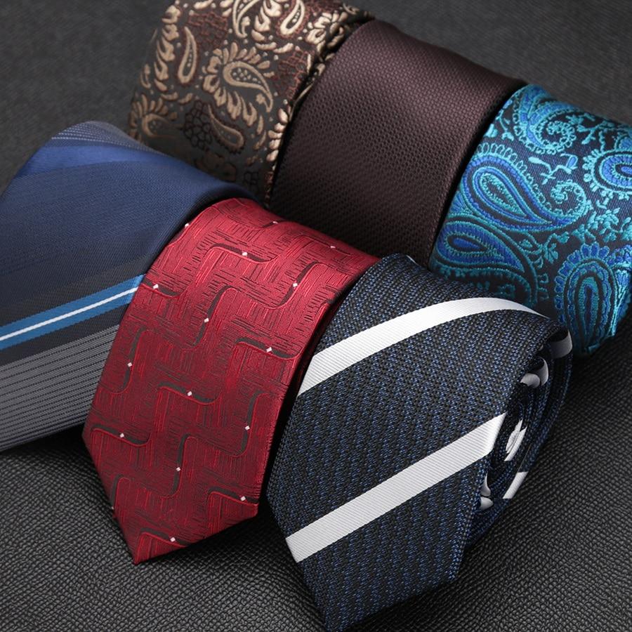 New Fashion Mens Ties Formal Dress Shirt Accessories Necktie Gentleman Design Party Wedding Gravata Slim Arrow 6cm Ties For Men