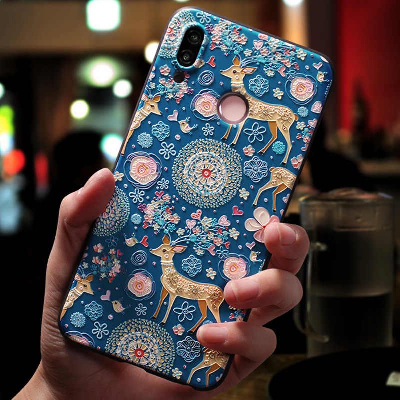 Totviss coque,cover,case For Huawei Nova 3 nova 3i case For Huawei nova 3e  3i Back etui 3D cute luxury Original mobile cases
