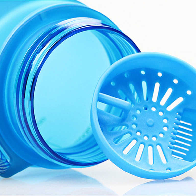 Joudoo Tritan Bpa Gratis Botol Air Mineral 380 ML Kapasitas 500 Ml Air Minum Plastik Portabel Protein Shaker Olahraga Botol Minum 40