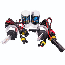 12V 55W Car HID xenon H7 H1 Headlight H8 H9 H10 9005 HB4 Super Bright 9006 3000K 6000K 4300K 8000K 12000K 5000K  h1 3000k