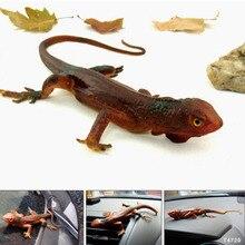 34cm Trick toy Practical Jokes Toys Simulation Lizards Fool Day Prank Toys Mischievous Small Animals Rubber LizardsColor