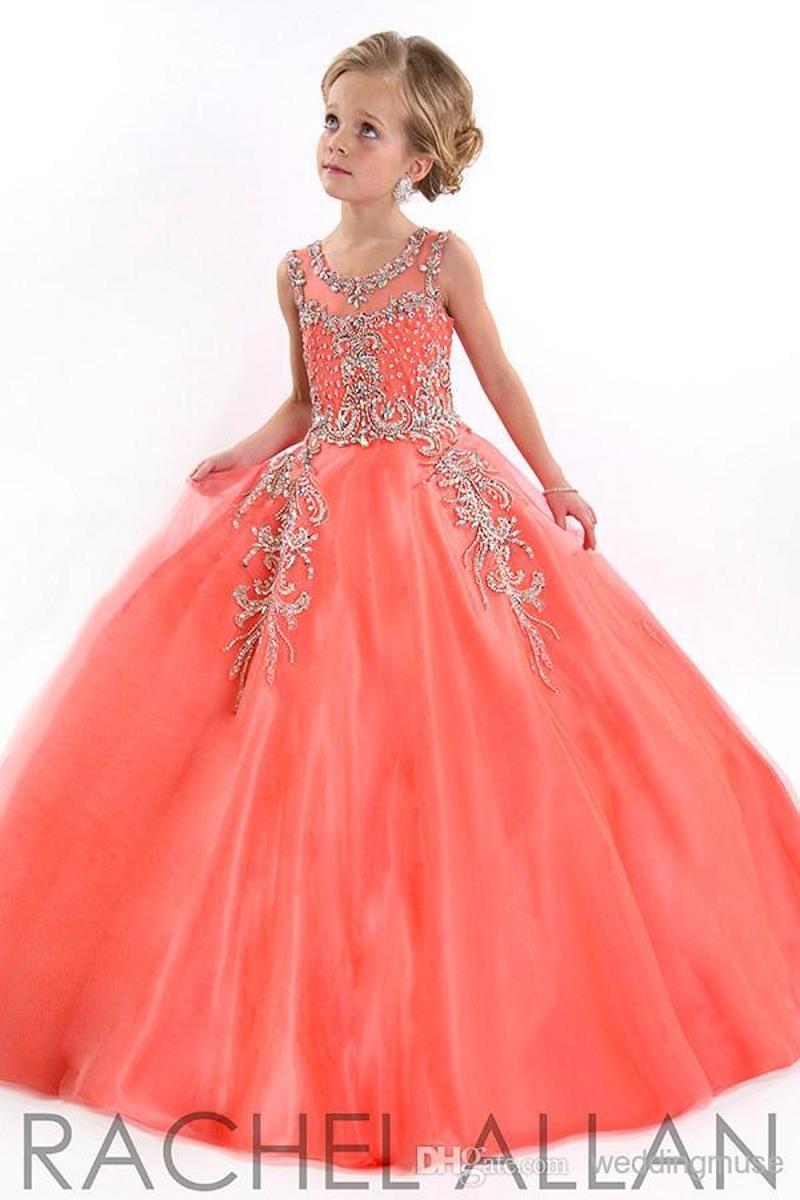 Niñas Vestido De Coral de alta calidad - Compra lotes ...