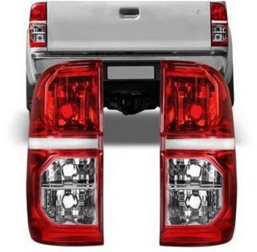 Rear Taill Light Lamp Rear Brake Taillight Taillamp FOR Pickup TOYOTA HILUX VIGO 2012 2014 2015 81551-0K160 91561-0K160 free shipping 2pc hexagon pattern abstract geometric body rear tail side graphic vinyl for toyota hilux vigo 2011 decals