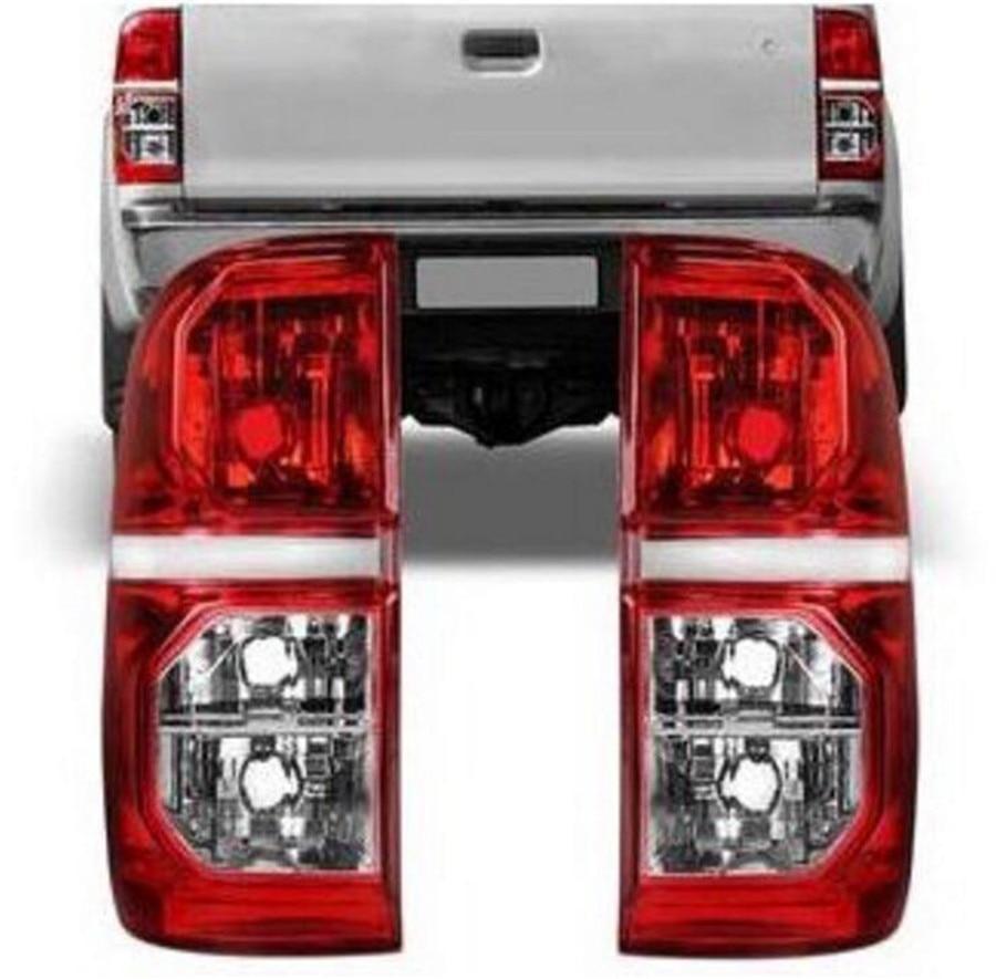Rear Taill Light Lamp Rear Brake Taillight Taillamp FOR Pickup TOYOTA HILUX VIGO 2012 2014 2015 81551-0K160 91561-0K160 2 pc free shipping rear sticker rock warrior for toyota hilux vigo revo