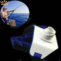 Fishing Boats Rod Pole Stand Holder Saltwater Fishing Fighting Belt Waist Support Holder Adjustable Sea Belt