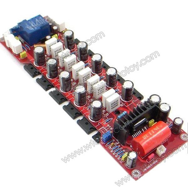YJ 300W Mono LME49810 2SA1943/2SC5200 Amplifier Board 11573