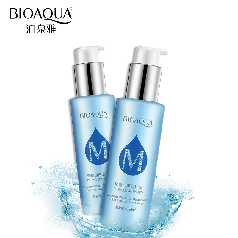 BIOAQUA Skin Care Natural Ocean Water Toner Facial Anti Aging Oil Control Whitening Moisturizing Replenishment Face Care