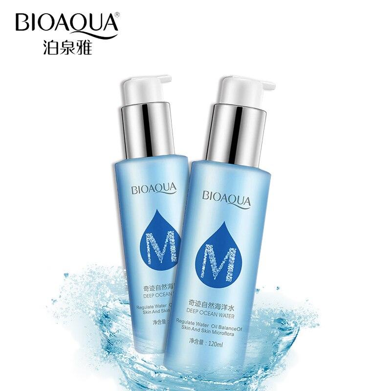BIOAQUA Skin Care Natural Ocean Water Toner Facial Anti Aging Oil Control Whitening Moisturizing Replenishment Face Care