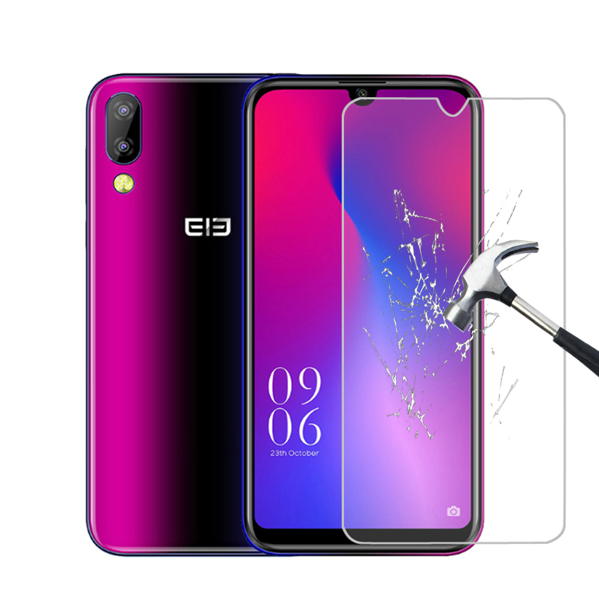 """Smartphone 9H Tempered Glass for Elephone A6 Mini A6MINI 5.71"""" GLASS Protective Film Screen Protector cover phone"""