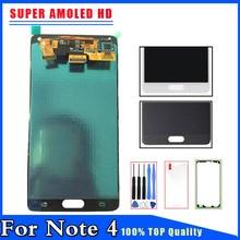 100% гарантия новый ЖК-дисплей Дисплей Сенсорный экран планшета для Samsung Galaxy Note 4 Note4 N910 N910A N910F