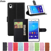 For Sony Xperia M4 Aqua Dual E2303 E2333 E2363 E2312 Wallert Case Flip Leather C