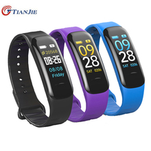 Smart Watch C1 PLUS színes képernyő Vérnyomás / Pulzusmérő Smart Bracelet Fitness Tracker Vízálló karszalag