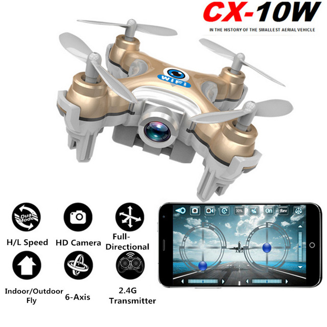 RC Drone Cheerson CX10D CX-10D Mini Drone 4CH RC Helicopter 6-axis RC Quadcopter FPV Drone with 0.3MP Wifi Camera VS CX-10 rc drone cheerson cx10d cx 10d mini drone 4ch rc helicopter 6 axis rc quadcopter fpv drone with 0 3mp wifi camera vs cx 10