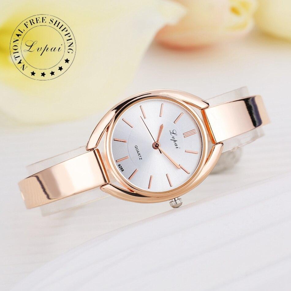 lvpai marque de luxe femmes bracelet montres mode femmes robe montre bracelet de dames quartz. Black Bedroom Furniture Sets. Home Design Ideas