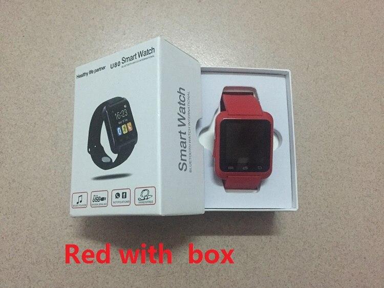 Smartwatch bluetooth smart watch u80 para iphone ios android teléfono inteligent