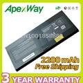 Apexway alta qualidade 2200 mah bateria do laptop 538693-961 fl04 fl04041 at907aa bq352aa hstnn-c72c para hp probook 5310 m 5320 m