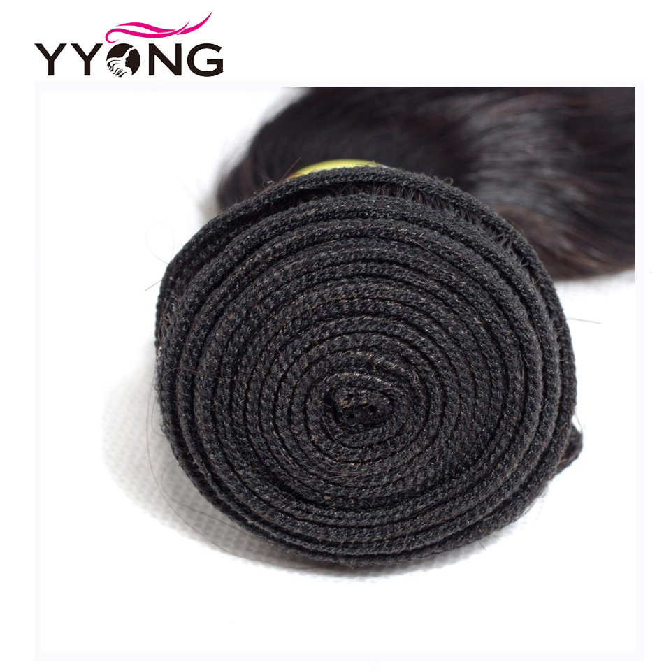 YYONG Hair Body Wave Bundles With 7x7 Closure Brazilian Hair Weave Bundles With Closure Human Hair Bundles With Closure Non Remy in 3 4 Bundles with Closure from Hair Extensions Wigs