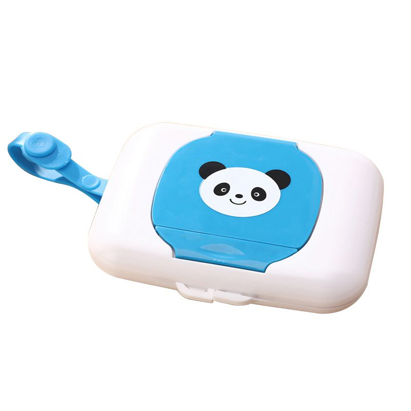 NOCM-Storage Holder Child Wet Wipes Box Travel Wipe Case Changing Dispenser Baby