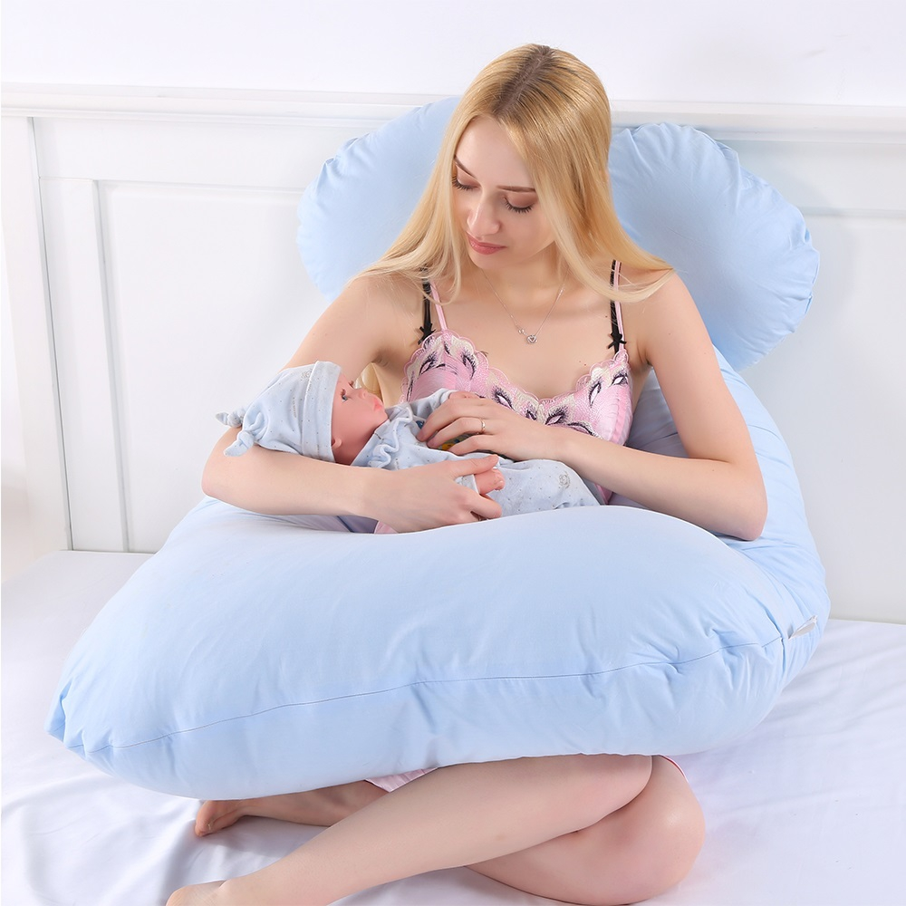 130cm Multifunctional Pregnancy Pillow for Side Sleeper Pregnant Women Подушка