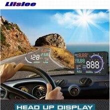 цена на Liislee Car HUD For Toyota Land Cruiser Highlander RAV4 - Refkecting Windshield Head Up Display Screen Projector