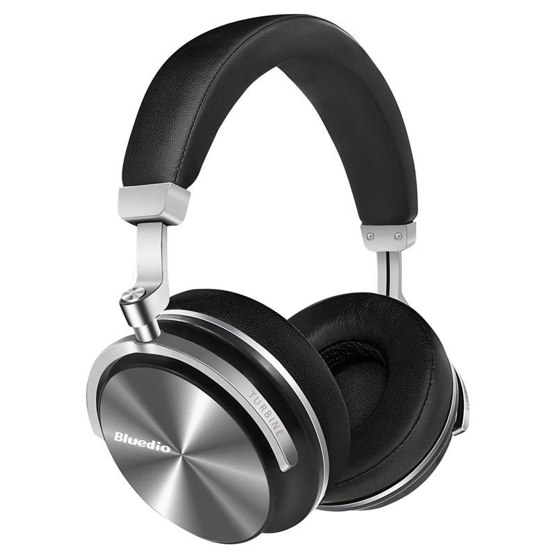D'origine Bluedio T4S bluetooth casque avec microphone ANC suppresseur de bruit actif casque sans fil - 2