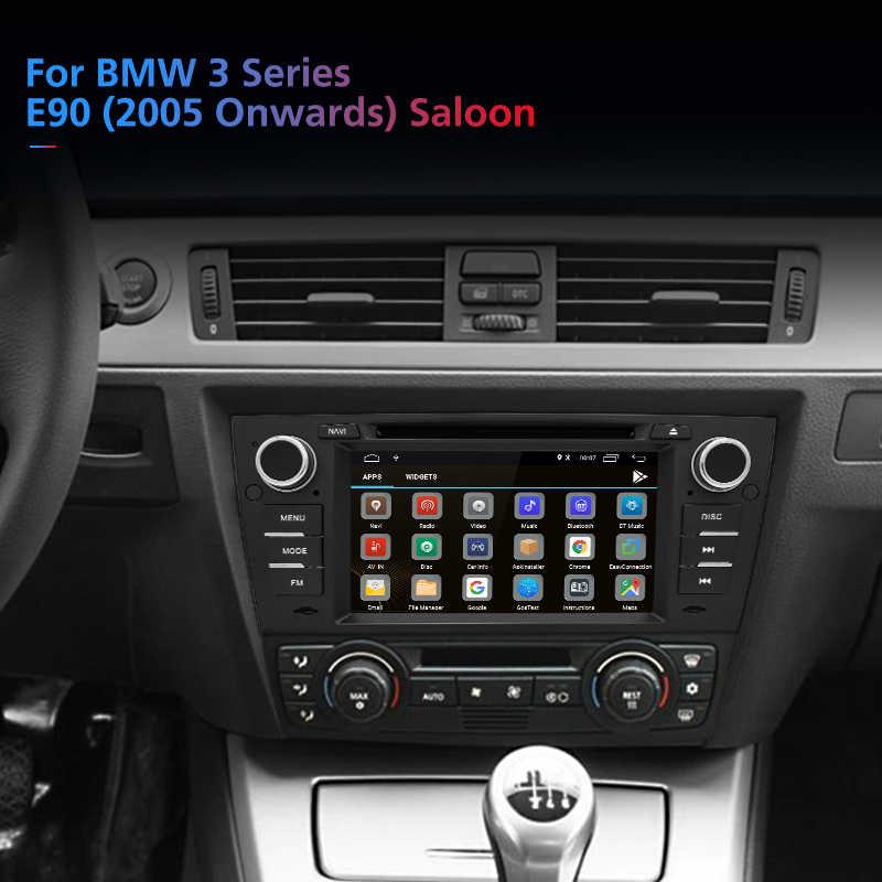 Junsun Android 8.1 Car DVD Radio untuk BMW 3 Seri E90 E91 E92 E93 Multimedia Navigasi dengan RDS Bluetooth Cermin link Peta Gratis