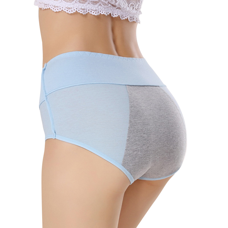 Women Menstrual   Panties   Period Physiological Pants Female Cotton Leak Proof Sexy Underwear Breathable Seamless Briefs For Girls