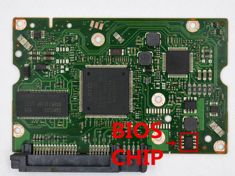 HDD PCB FOR SEAGAT/Logic Board/Board Number: 100579470 REV B