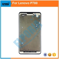 FLPORIA 10PCS For Lenovo P780 New LCD Panel Frame Bezel Faceplate Front   Housing   Repalcement Parts In   Mobile     Phone