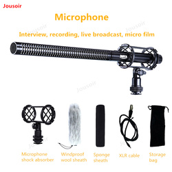 Microphone Radio PVM1000L Studio Professional Micro movie News Camera interview recording Live Broadcasting microphone CD50 T11