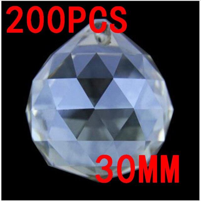 Hot Mm Quartz Crystal Glass Faceted Ball Cognac Paperweight - Quartz chandelier crystals