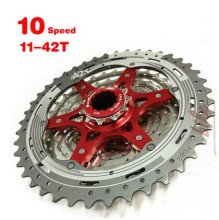 SunRace red CSMX3 11-40T / 11-42T 10 Speed MTB Bike Cassette Freewheel Wide Ratio bicycle mtb freewheel 11-40T/11-42T