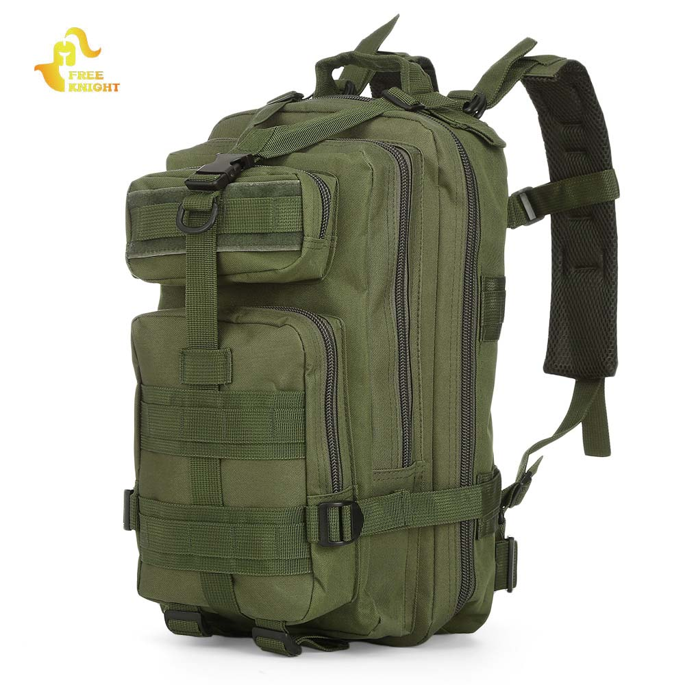 Free Knight 3P Military Army Tactical Backpack Outdoor Sports Trekking Travel Bag Camping Hiking Camouflage Bag Cycling Bike Bag