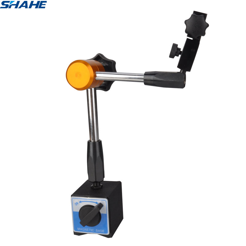 shahe magnetic stand for digital dial indicator gauge 3 Joints Full Adjustable Dial Gauge magnetic base stand holder