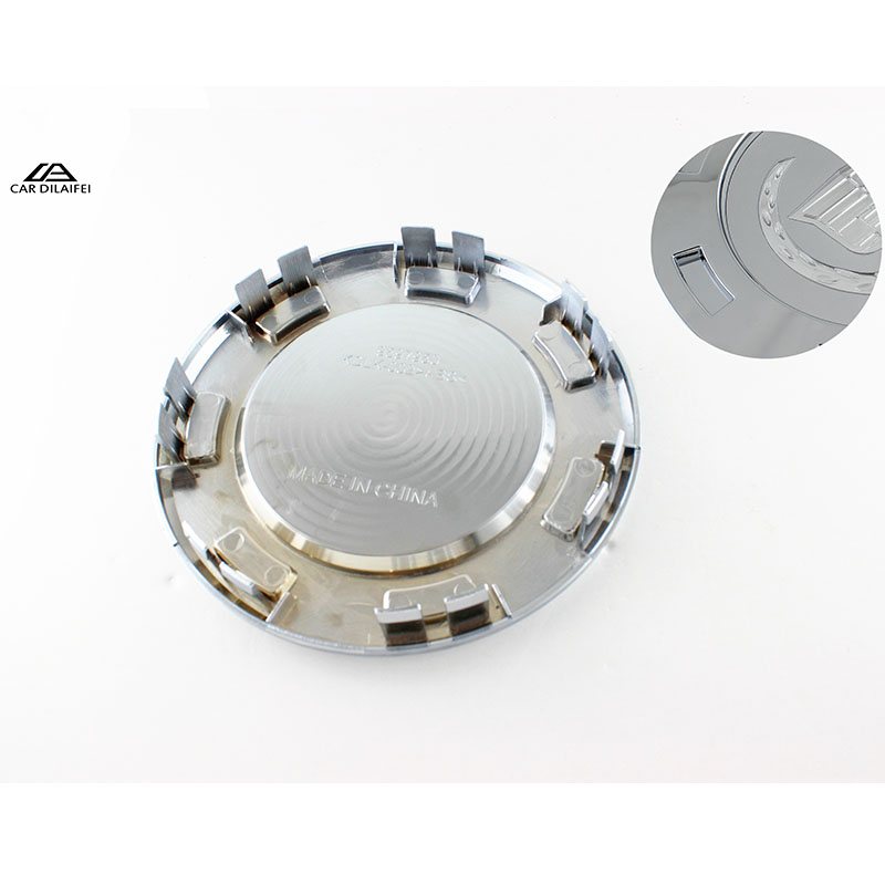4x 200mm 8 7-Spoke Chrome Wheel Center Hub Caps Cover Emblem Badge Car Styling Rim Dust Proof Fit for CADILLAC Escalade 9596649