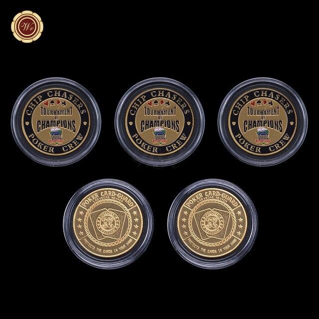 WR Vintage Home Decor Casino Poker Token Coin Creative Chip Coins ...