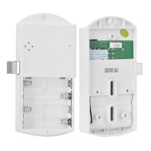 Image 3 - 953M1 Smart Kasten Universal Zinklegering Digitale Kast Anti Diefstal Wachtwoord Lock Elektronische Batterij Aangedreven Touch Toetsenbord